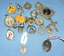 Religious Christian MEDALS & CHARMS, Variety