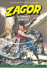 ZAGOR COLL. STORICA A COLORI N.65 - LA FORMULA DIABOLICA  - NUOVO !!!!!!!