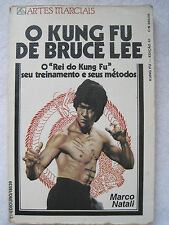 O KUNG FU DE BRUCE LEE BY MARCO NATALI - RARE BOOK FROM BRAZIL - AUTOGRAPHED
