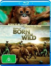 Imax - Born To Be Wild - New/Sealed Blu Ray Region B