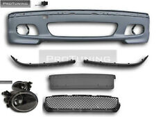 BMW E46 3 Series M Sport front bumper with fog lights saloon sedan touring tech