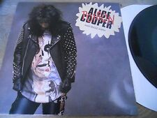 ALICE COOPER POISON & BALLAD OF DWIGHT FRY & COLD ETHYL 1989 EPIC RECORDS USED