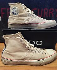 Vintage 50s JPC AIR COOLED Sanitized athletic Sneaker Hi Top Converse Shoes. 13