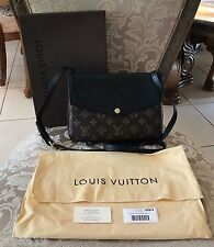 Louis Vuitton Twinset Twice Monogram Noir M50185 Crossbody Pochette Bag