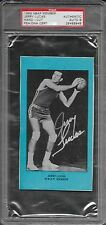PSA/DNA 9 AUTO AUTHENTIC 1969 NBPA BOX CARD JERRY LUCAS HAND - CUT