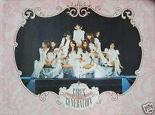 "GIRLS GENERATION ""FIRST JAPAN TOUR"" PROMO POSTER FROM THAILAND- K-Pop Girl Group"