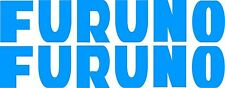 Furuno Stickers 2 x 400 x 75 quality stickers made from Avery marine vinyl