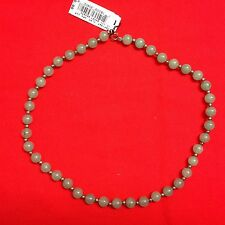 "QUALITY COSTUME JEWELRY 17"" Jade Beads"