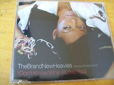 THE BRAND NEW HEAVIES I DON'T KNOW WHY (I LOVE YOU)  CD SINGOLO SIGILLATO