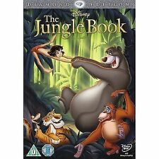 The Jungle Book (DVD, 2013) Walt Disney no 19 on spine in yellow