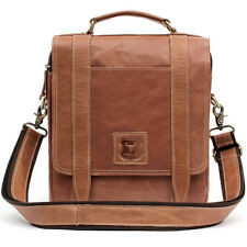Mens Leather Messenger Bag Shoulder Bag Briefcase Cross Bag Vintage Womens Bag