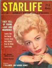 Sandra Dee cover STARLIFE  magazine October  1959