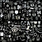 30g Random Mix - Tibetan Silver Charms Beads Findings Jewellery Mix Craft B197