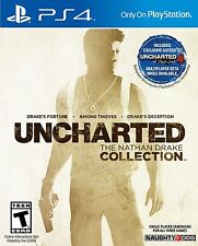 Uncharted: The Nathan Drake Collection (Sony PlayStation 4, 2015) - Brand New