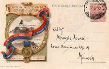 Brigata Liguria, 157°-158° Reggimento Fanteria - Viaggiata P.M. - B206A