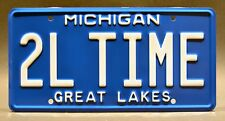Home Improvement / Tim Allen's Roadster/ TOOL TIME *STAMPED* Prop License Plate