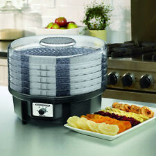 Professional Food Dehydrator Waring Pro Dehydrate Jerky Meat Vegetable Fruit