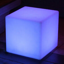 "Main Access 8"" Pool Spa Waterproof Color Changing Patio Floating LED Light Cube"