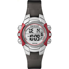 Timex Women's Marathon | Red/Black w Alarm, Stopwatch | Sports Watch T5K807