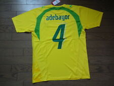 Togo #4 Adebayor 100% Original Soccer Jersey Shirt M 2006/07 Home Still BNWT