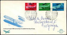 Netherlands 1968 Dutch Aviation FDC First Day Cover #C27350