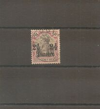 TIMBRE ALLEMAGNE DEUTSCHE KOLONIE GERMAN LEVANT N°46 OBLITERE USED