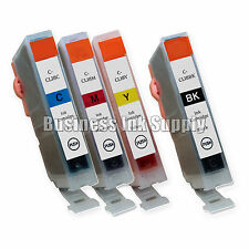 4 New Ink Cartridges For Canon CLI8 CLI-8 Pixma MP530