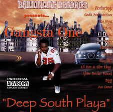 Psk-13, Esg, Gangsta One: Deep South Playa Explicit Lyrics Audio Cassette