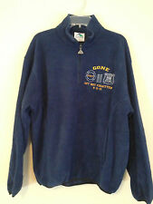 NEW NWT Augusta Fleece Jacket Blue Medium NYPD 9/11 Remembrance Men's