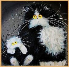 Fat Cats, 5D diamond painting cross stitch paint by numbers UK Seller