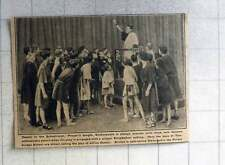 1921 Boys Of Tonbridge School Acting Play Of Julius Caesar