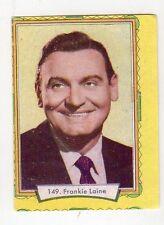 figurina - LAMPO ATTORI 1957 - numero 149 FRANKIE LAINE