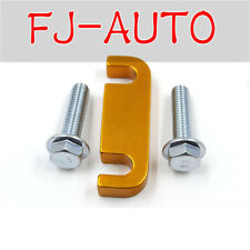 Gold Duramax Fuel Filter Head Housing Spacer and 2pcs Bolts 2001-2016