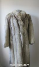 Women's Sz 8 Norwegian Fox Fur Coat  MINT SALE