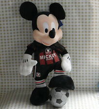 """DISNEY Mickey Mouse in football siut MM28 STUFFED 16""""  COLLECTION DOLL TOY"""