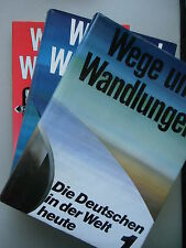 3 Bd. Die Deutschen in der Welt heute Wege und Wandlungen Germantown Nordamerika