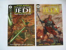 Star Wars Tales of the Jedi Dark Lords of the Sith # 1-6 (Dark Horse 1994) NM