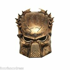 Gold Predator Mask  Halloween  Alien TV Film Fancy Dress