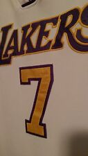 vtg NBA Reebok LA Lakers Lamar Odom Basketball authentic stitched Jersey Sz 54