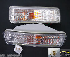 TOYOTA HILUX LN85 LN100 LN106 CLEAR BUMPER INDICATOR TURN SIGNAL LIGHT 88-97 89