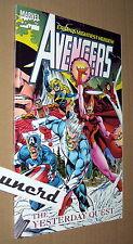 Avengers: Yesterday Quest 1st Printing TPB - Mark Gruenwald, John Byrne