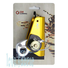Rope Grab With Eye Aluminum Use Synthetic Rope 1/3-1/2 or 8mm-12mm Climbing Gear