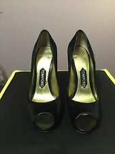 "Tom Ford Black Pony Hair 5"" Heels"