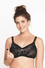 Anita Maternity 40C Padded Wire Free Nursing Bra 5047 Black
