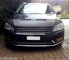 VW PASSAT B7 Typ36 10- Black front grill badgeless Gitter debadged r line grille