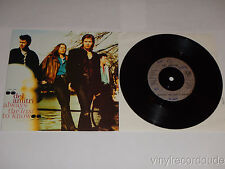 "DEL AMITRI Always The Last To Know / Learn To Cry UK 7"" 45 A&M AM 870 (1992) PS"