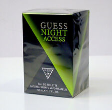 GUESS NIGHT ACCESS PROFUMO UOMO EAU DE TOILETTE EDT 50 ML