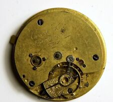 COX AND SON LONDON ENGLISH LEVER FUSEE POCKET WATCH MOVEMENT  TT69