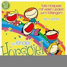 CD Die Bambini Gioco radiofonico Scatola 4CDs per bambini da 4 anni