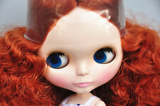 "Takara 12"" Neo Blythe Red Curly Hair Nude Doll from Factory TBO101"